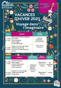 Planète Lirou Vacances Hiver 2021