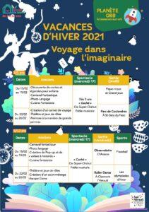 Planète Orb Vacances Hiver 2021